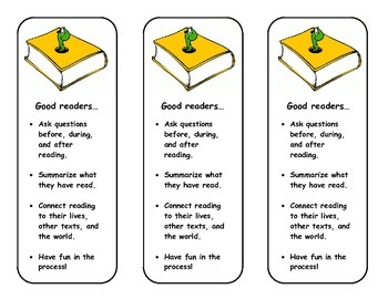 Good Readers Bookmark
