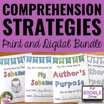 Reading Comprehension Strategies Mini Books