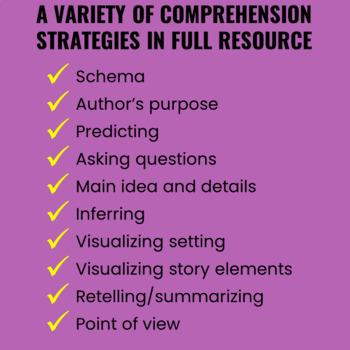 Reading Comprehension Strategies FREEBIE