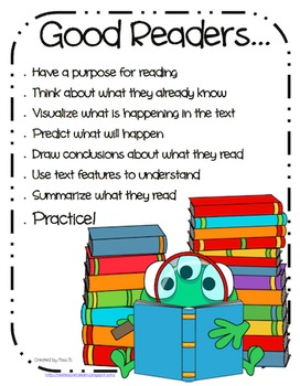 """Good Readers"" Guided Reading Flip Chart"