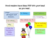 Good Readers Have Ideas Pop Anchor Chart
