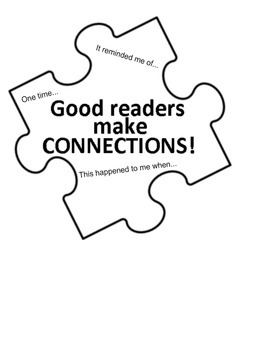Good Readers Make Connections Visual