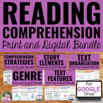 Reading Comprehension Activities For Any Text Mini Books The Bundle