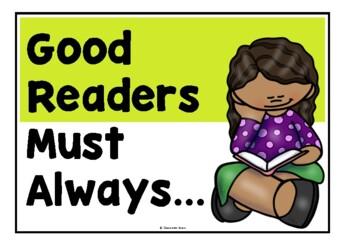 Good Readers Must Always...