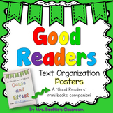 Text Organization Posters