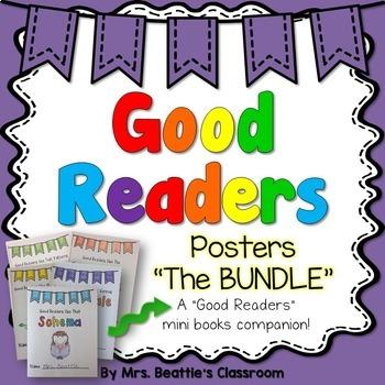 Reading Comprehension Posters BUNDLE
