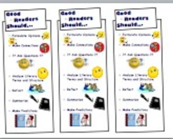 Good Readers Should... Bookmarks