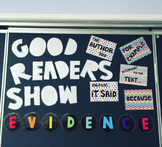 Good Readers Show Evidence Bulletin Board #ausbts18