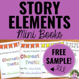 Story Elements Activities for Any Text FREEBIE