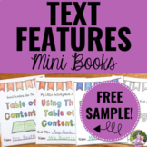 Text Features Activities for Any Text FREEBIE