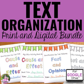 Text Organization Activities for Any Text | Mini Books