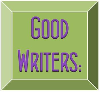 Good Readers, Writers, & Digital Citizens - Poster Set