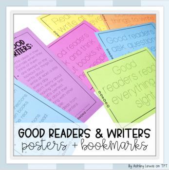 Good Readers & Writers Posters