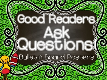 Good Readers ask Questions Mini poster FREEEEEEBIE!