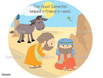 Good Samaritan craft- Bible Craft for kids