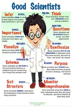 Good Scientist Poster - Boy