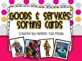 Goods & Services Sorting Cards