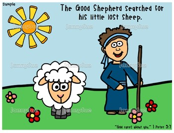 Little Sheep Gets Lost: The Story of the Lost Sheep (Bible Animals)