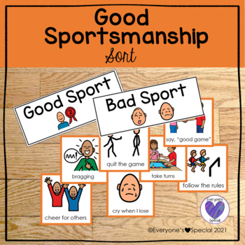 Good Sportsmanship Sort and Special Olympic Oath