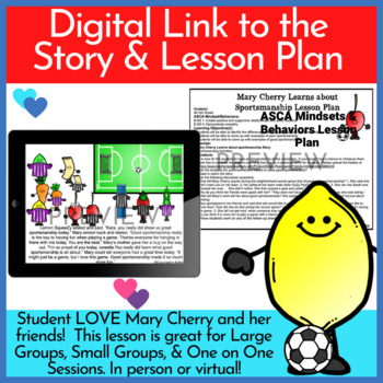 Good Sportsmanship Story & Activities (Mary Cherry Learns about Sportsmanship)