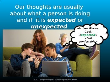 Good Thoughts & Uncomfortable Thoughts; Expected and Unexpected; Perspective