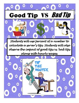 Good Tip vs. Bad Tip Percent of a Number