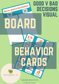 Good VS Bad Decision Board
