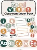 Good Vibes Classroom Decor Pack