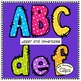 Good Vibrations Doodle Letters and Numbers - Clip Art