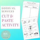 Good Vs. Service: Cut and Paste Activity