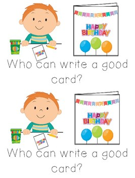 Good Who Sight Word Books for Classroom Library