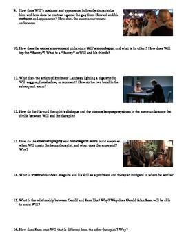 Good Will Hunting Film (1997) Study Guide Movie Packet
