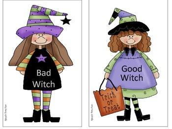 Good Witch vs. Bad Witch FREEBIE