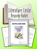 Good Work, Amelia Bedelia Literature Circle, Book Club- No
