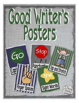 Good Writers Poster Set