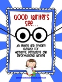 Good Writers See...
