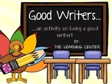 Good Writers...