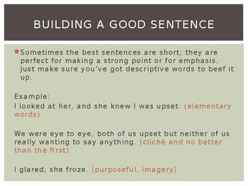 Good Writing!