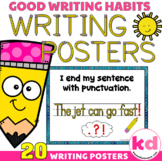 Writing POSTERS for Writing Sentences --- Writing Rubric / Checklist