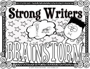 Good Writing Matters - 23 Black 'n White Posters for Writing Centers