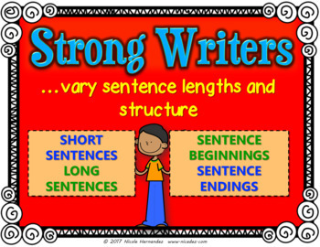 Good Writing Matters - 23 Colored Posters for Writing Centers