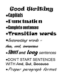 Good Writing Reminders