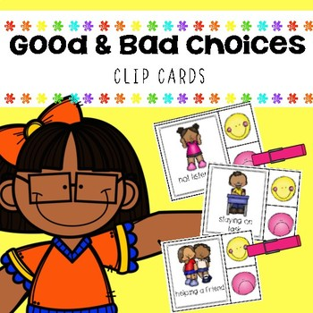 Good and Bad Choices Clip Cards