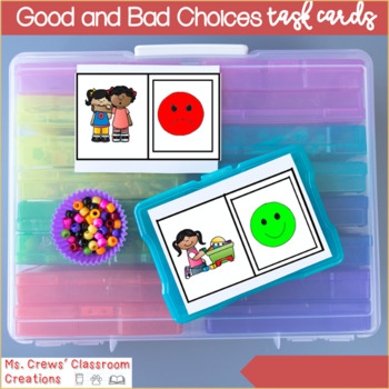 Good and Bad Choices Task Cards