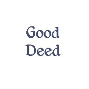 Good and Bad DEEDS