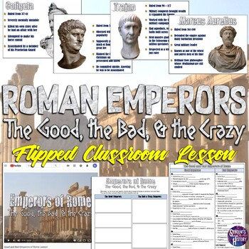 Roman Emperors Magic Portrait PowerPoint