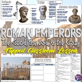 Roman Emperors Magic Portrait PowerPoint and Flipped Classroom Lesson