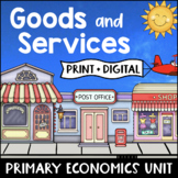 Goods and Services Activities Worksheets Consumer Producer Primary Economics
