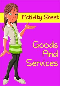 Good and Services Activity - Economics