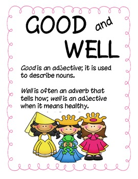 Good and Well Activities